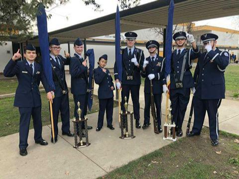 Color Guard and Honor Guard Team Picture